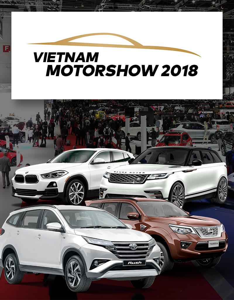 Triển lãm ô tô Việt Nam 2018