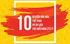 Sự kiện văn hóa, thể thao và du lịch tiêu biểu năm 2019