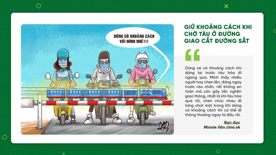 10 thói quan văn minh giao thông
